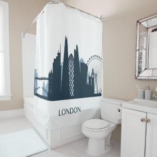 Cortina Para Chuveiro Skyline da cidade de Londres