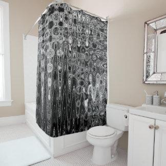 Cortina Para Chuveiro Tinta & eco mim cortina de chá pelo artista C.L.