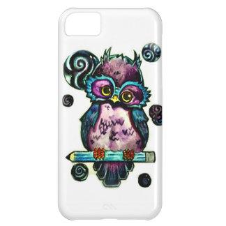 Coruja artística capa para iPhone 5C