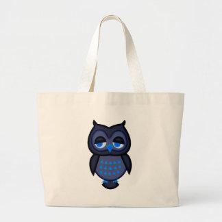 Coruja azul bolsas