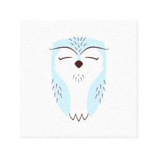 Coruja azul da floresta