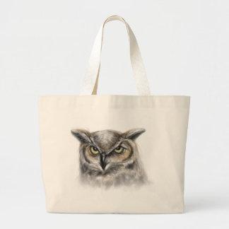 coruja bolsas de lona