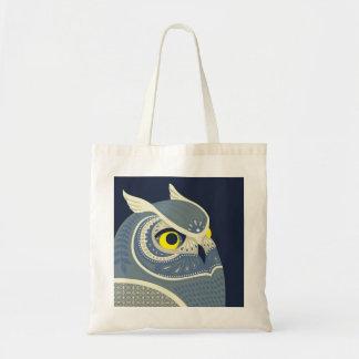 coruja da meia-noite bolsa tote