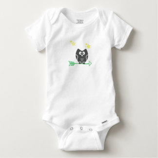 Coruja e as estrelas body para bebê
