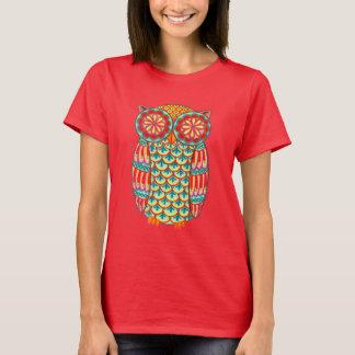 Coruja Funky Camiseta
