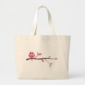 Coruja sábia bolsa para compras