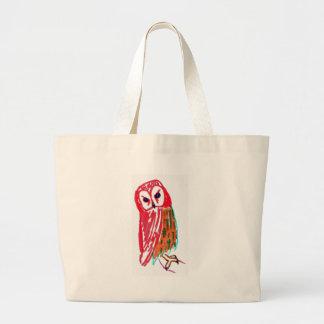 Coruja sábia bolsas para compras