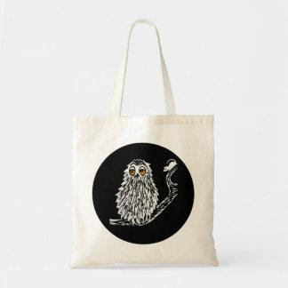 Coruja sonolento bolsa para compra