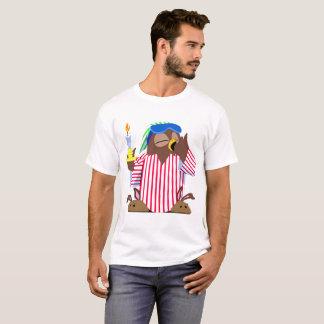 Coruja sonolento do Natal Camiseta
