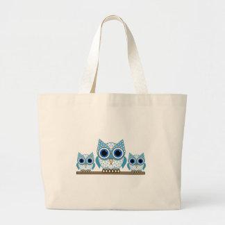 corujas bolsas de lona
