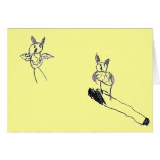 Corujas - cartão