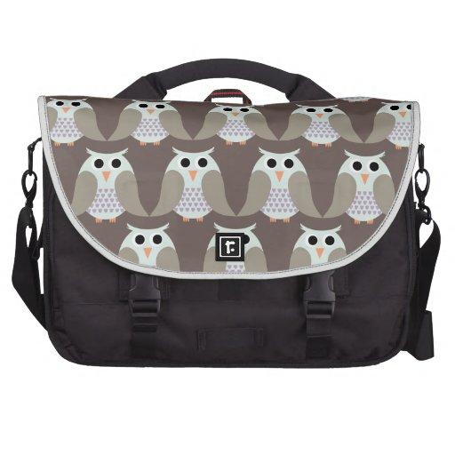Corujas, corujas, corujas! bolsas para notebook