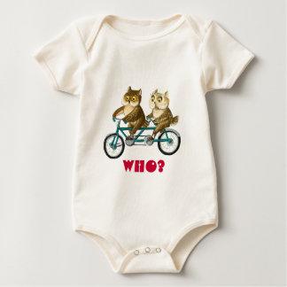 Corujas da bicicleta babadores