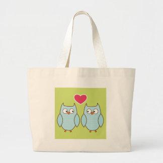 corujas do amor bolsas para compras