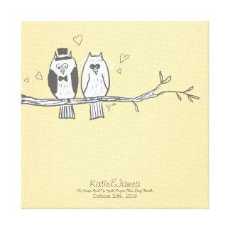 Corujas dos noivos que Wedding