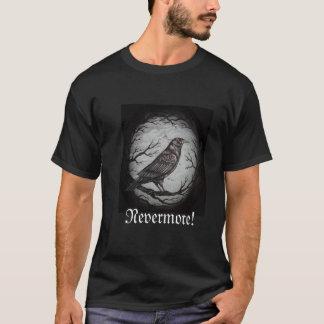 Corvo do ponto de entrada nunca mais camiseta