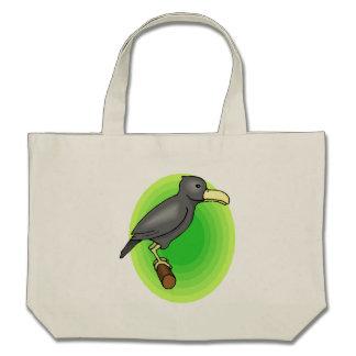 Corvo dos desenhos animados bolsas para compras