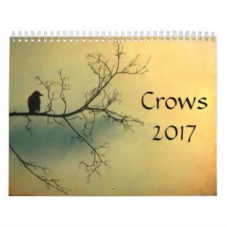 Corvos 2017 calendário