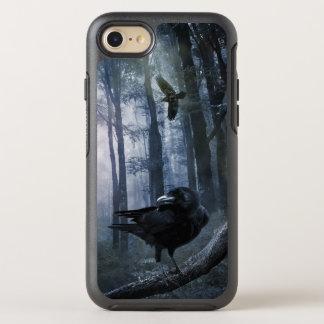 Corvos enevoados da floresta capa para iPhone 7 OtterBox symmetry