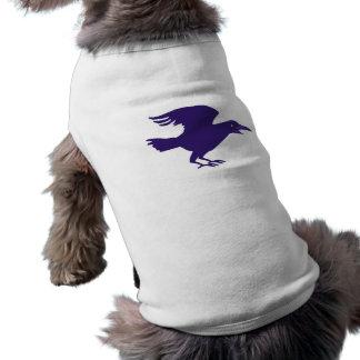 Corvos raven dia das bruxas roupas para cães