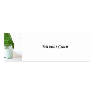 Cosmético Cartão De Visita Skinny
