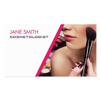 Cosmetologia do Cosmetologist do artista de Cartão De Visita