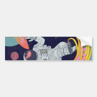 Cosmonauta Adesivo Para Carro