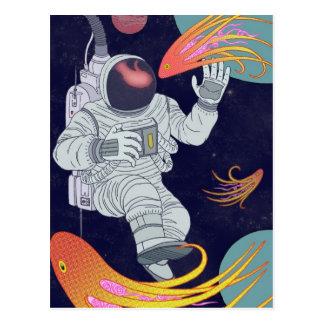 Cosmonauta Cartões Postais