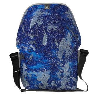 Cosmos azul #3 bolsa mensageiro