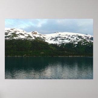 Costa do Alasca na fotografia do viagem do Pôster