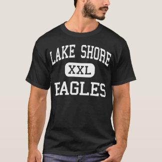 Costa do lago - Eagles - alta - Angola New York Camiseta