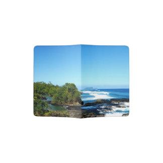 Costa e paisagem capa para passaporte