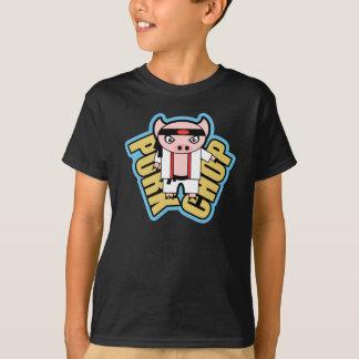 Costeleta de carne de porco camiseta