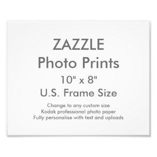 """Costume 10"""" × 8"""" impressão da foto (tamanho de"""