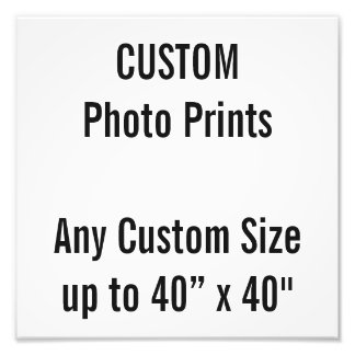 """Costume 10"""" x 10"""" impressão da foto (ou algum impressão de foto"""