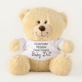 """Costume 11"""" BONECA do modelo do brinquedo do urso"""