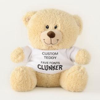 """Costume 11"""" CLUNKER do modelo do brinquedo do urso"""