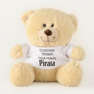 """Costume 11"""" modelo PIRATA do brinquedo do urso de"""