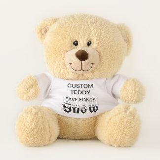 """Costume 11"""" modelo SNOWGOOSE do brinquedo do urso"""