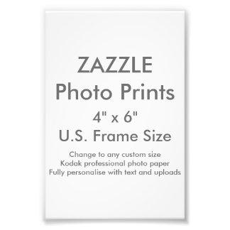 "Costume 4"" de Zazzle x 6"" impressão da foto"
