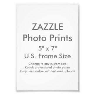 "Costume 5"" de Zazzle x 7"" impressão da foto"
