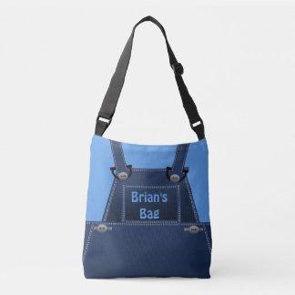Costume azul popular CBB dos macacões de Counrty Bolsa Ajustável