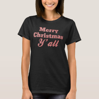 Costume de cumprimento de Houndstooth do Natal do Camiseta
