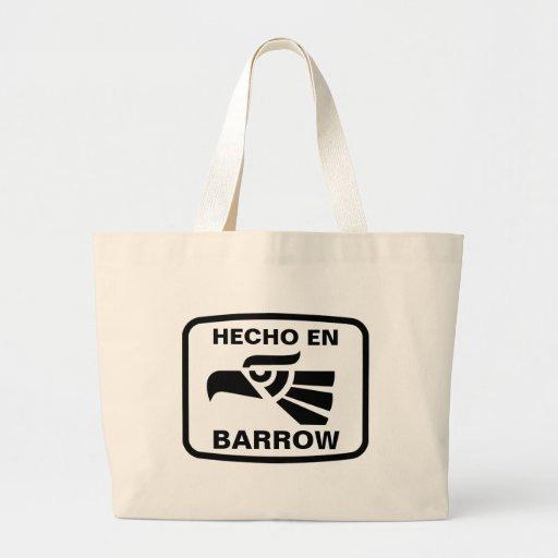 Costume do personalizado do carrinho de mão do en  bolsas de lona