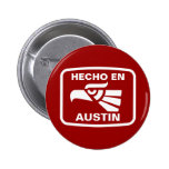 Costume do personalizado do en Austin de Hecho per Bóton Redondo 5.08cm