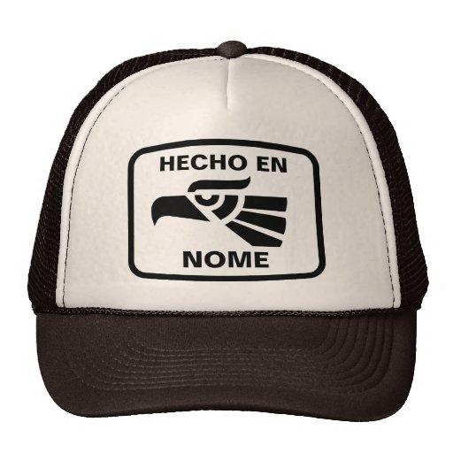 Costume do personalizado do en Nome de Hecho perso Boné