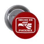 Costume do personalizado do en Phoenix de Hecho pe Bóton Redondo 5.08cm