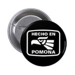 Costume do personalizado do en Pomona de Hecho per Bóton Redondo 5.08cm