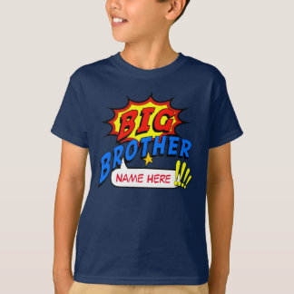 Costume do super-herói do big brother camiseta