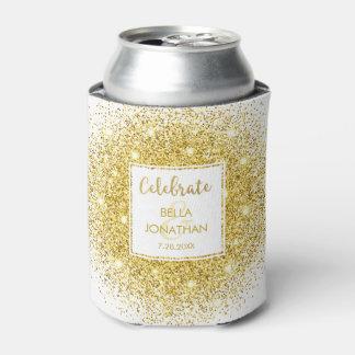 Costume Glam do brilho do ouro elegante simples do Porta-lata